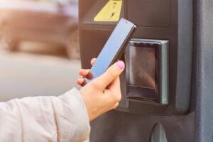 Near Field Commuication mit Smartphone nutzbar