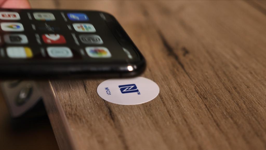 NFC-Tag mit Smartphone nutzen