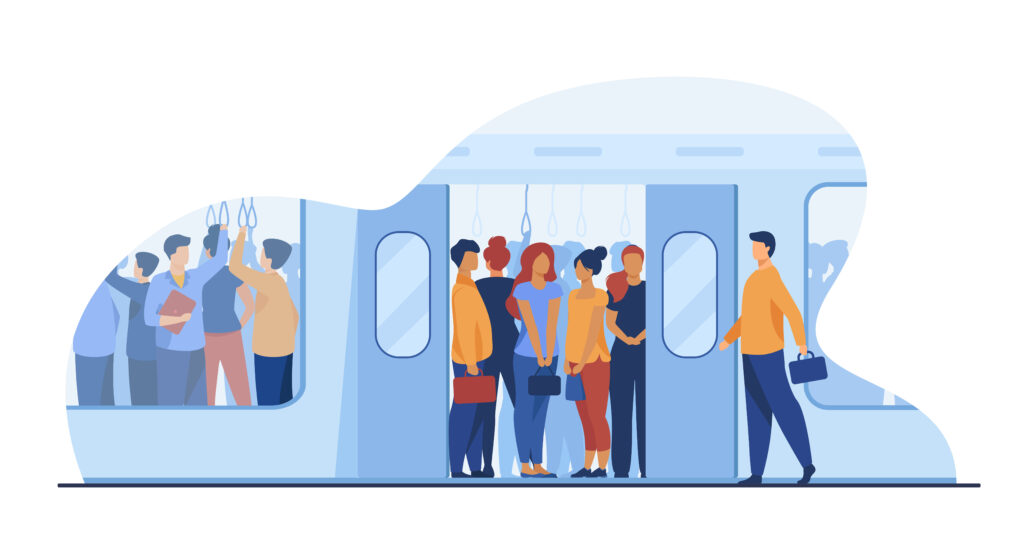 Reisende im öffentlichen Verkehr - verkehrsmittelspezifisches Mobilitätsbedürfnis
